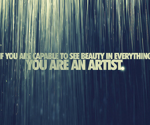 quote and you are an artist image
