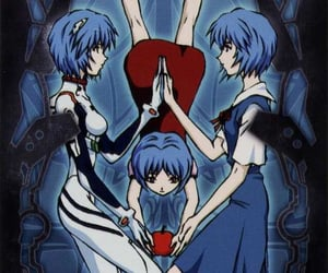 cards, Neon Genesis Evangelion, and the fool image