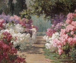 flowers, art, and garden image