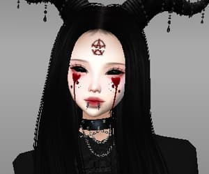 aesthetic, avatar, and black image