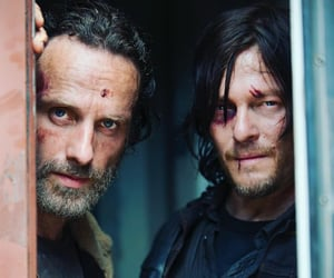 series, the walking dead, and rick grimes image