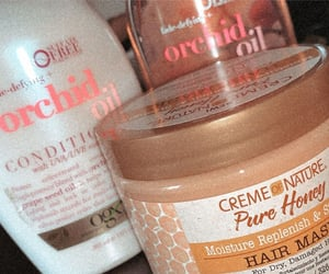 curly hair, hair, and products image
