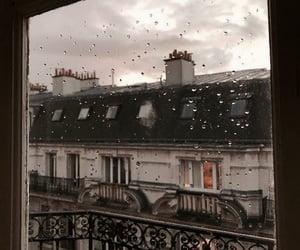 paris, rain, and aesthetic image