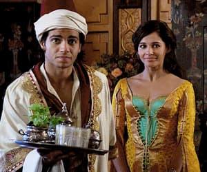 aladdin, movie, and naomi scott image