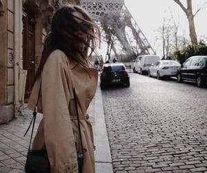 paris, beautiful, and girl image
