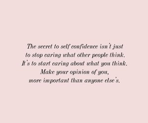 pink, quotes, and self love image