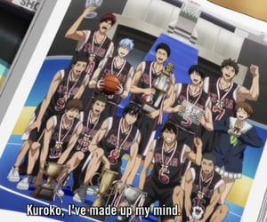 seirin, anime, and kuroko no basket image