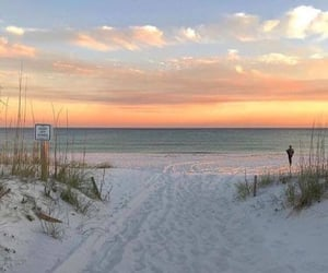 beach, beautiful, and nice image