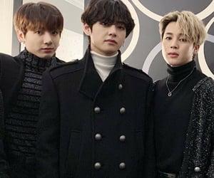 jungkook, taehyung, and jimin image