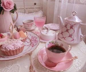 pink, tea, and pastel image