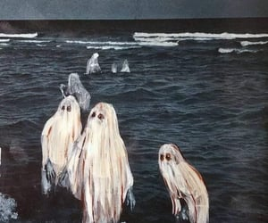 ghost, art, and paint image