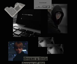 aesthetic, jungkook, and taehyung image