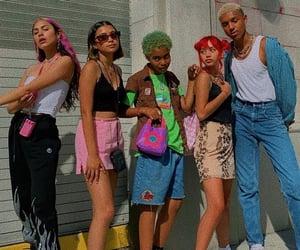 alternative, colors, and fashion image