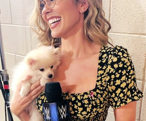 backstage, wwe, and cathy kelley image