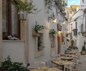 italy, cafe, and travel image