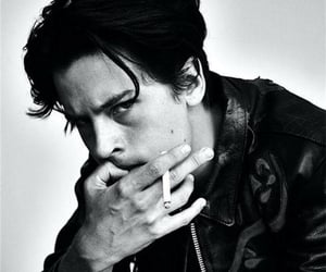 black and white, actor, and cole sprouse image