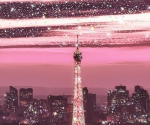 aesthetic, pink, and stars image