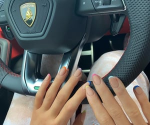nails, kylie jenner, and car image