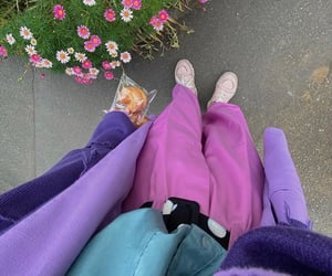 colorful, outfit, and trend image