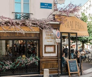 cafe, city, and france image