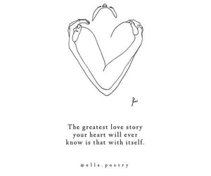 positivity, quote, and self love image