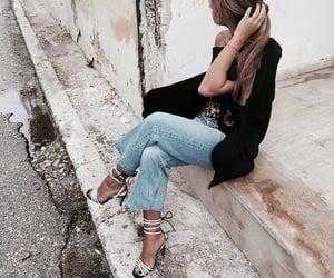 fashion, blazer, and girl image
