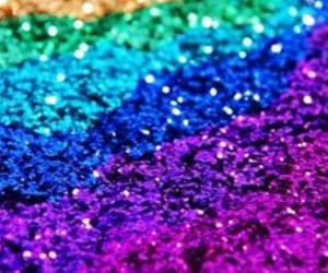 rainbow, sparkly, and backgrounds image