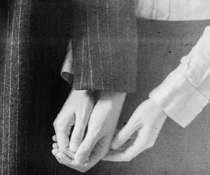 black and white and hands image