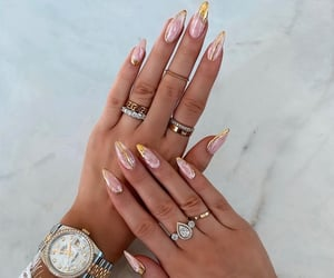 nails and rolex image