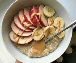 breakfast, healthy, and oatmeal image