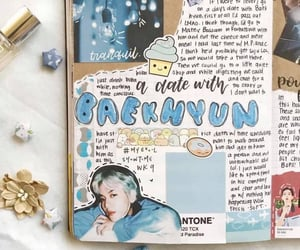 aesthetic, exo, and journaling image