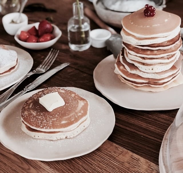pancakes, delicious, and sweet image