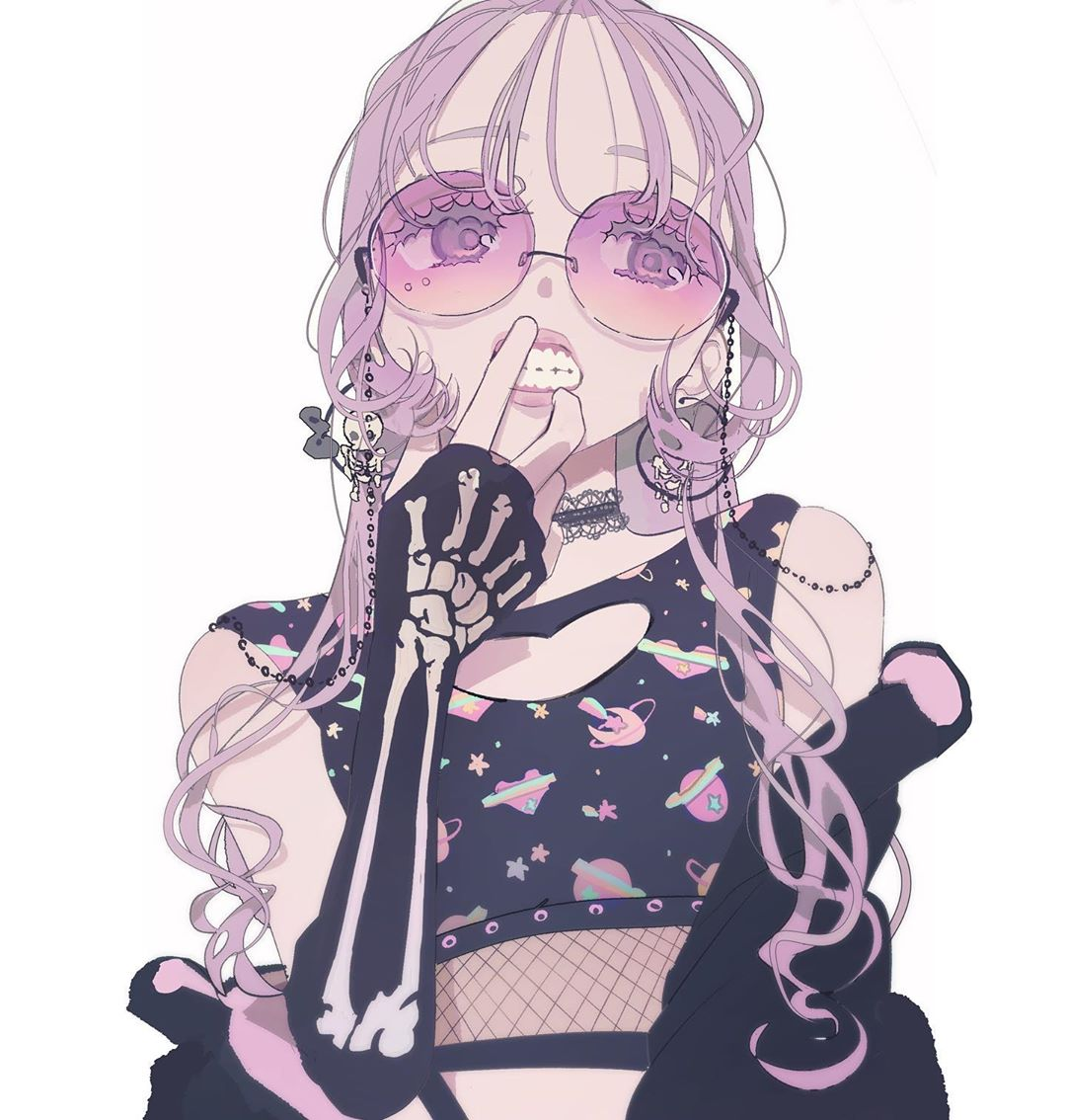 art, Girl Crush, and glasses image