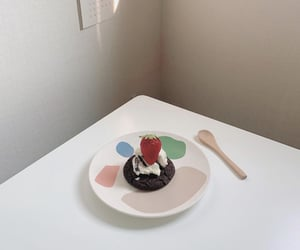 aesthetic, fruit, and cake image