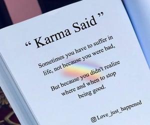 book, karma, and life image