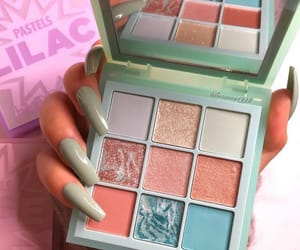 beauty, eyeshadow, and palette image