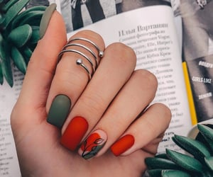 manicure, nails, and beauty image