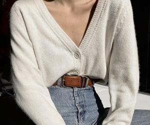 belt, blue, and brown image