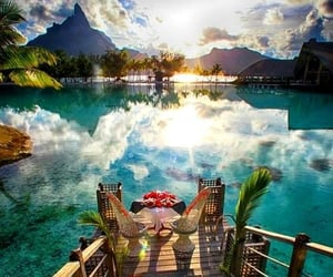 summer, paradise, and travel image