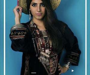 arab, arabian, and beauty image
