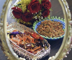 candy, eid, and mirror image