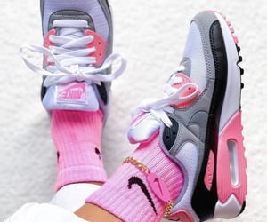 nike, drip, and pink image