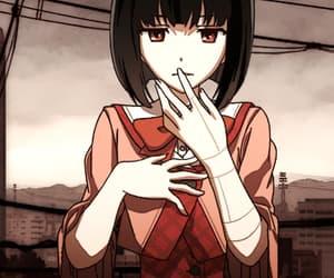 anime, gif, and funny gif image