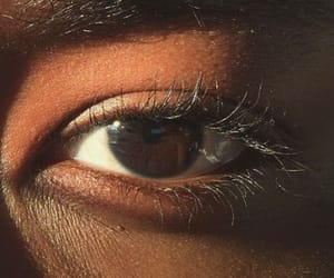 eyes, brown, and aesthetic image