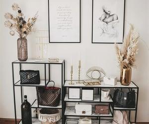 art, bag, and decor image