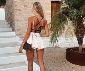 beach, blonde, and pretty image