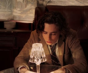 timothee chalamet, a rainy day in new york, and little women image