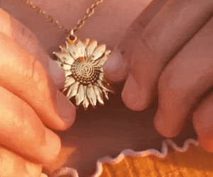 gif, necklace, and sun image