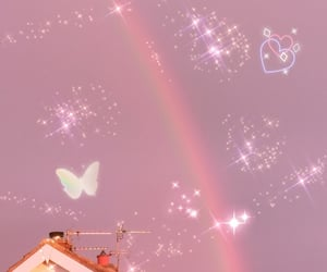 butterfly, kawaii, and pastel image