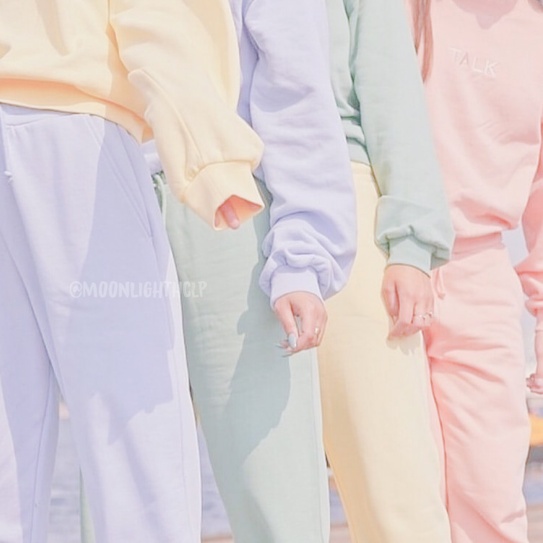 pastel pink, pastel yellow, and article image